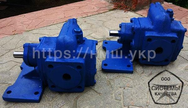 Насосы НМШ 2-40 масляные шестеренные для нефтепродуктов фото