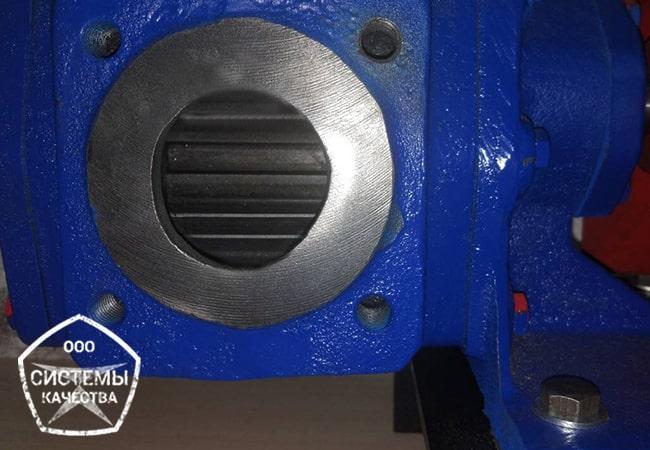 Шестеренный насос НМШ для перекачки нефтепродуктов