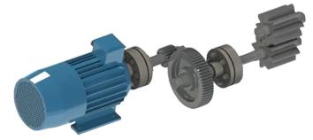 двигатель и муфты для насоса дс-134